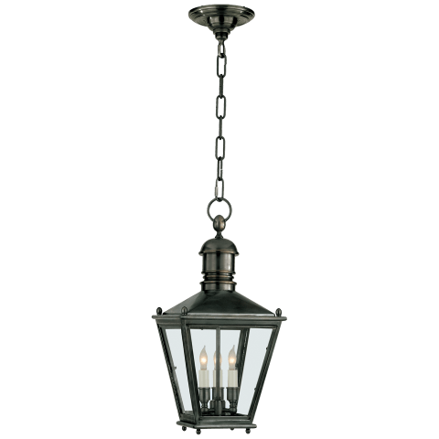 Sussex Small Hanging Lantern in Bronze