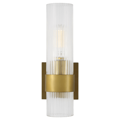 Geneva Sconce Burnished Brass