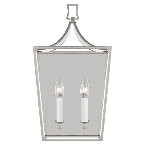 Southold 2 - Light Wall Sconce Polished Nickel