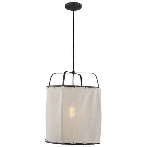 Dunne 1 - Light Pendant Aged Iron