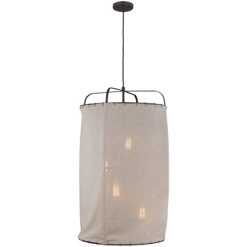 Dunne 4 - Light Pendant Aged Iron