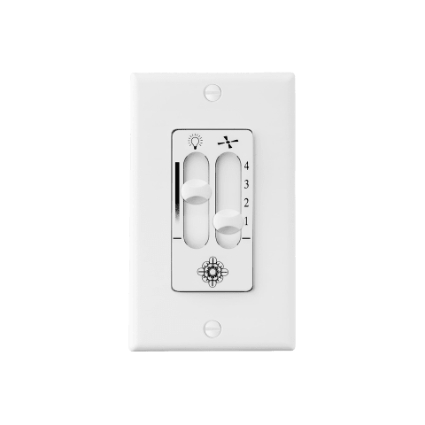 4SPEEDDIMMERWALLCONTROLWH White
