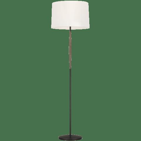 Ferrelli 1 - Light Floor Lamp in Weathered Oak Wood