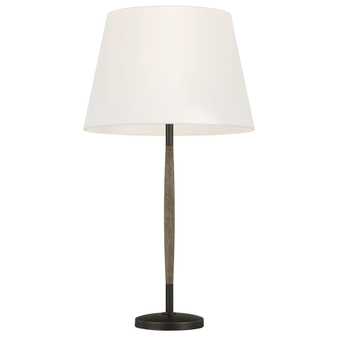 Ferrelli 1 - Light Table Lamp in Weathered Oak Wood