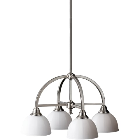 Perry 4 - Light Kitchen Chandelier Brushed Steel