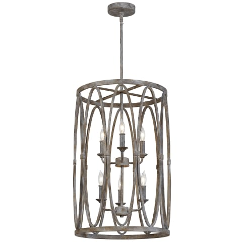 Patrice 6 - Light Chandelier Deep Abyss