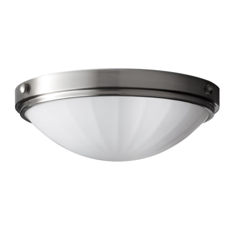 Perry 2 - Light Indoor Flush Mount Brushed Steel