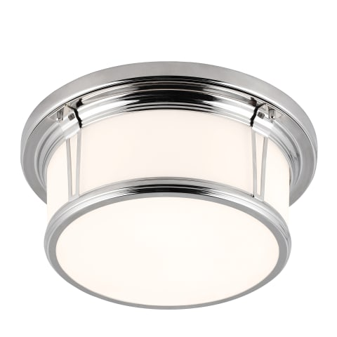 Woodward 2 - Light Flushmount Polished Nickel