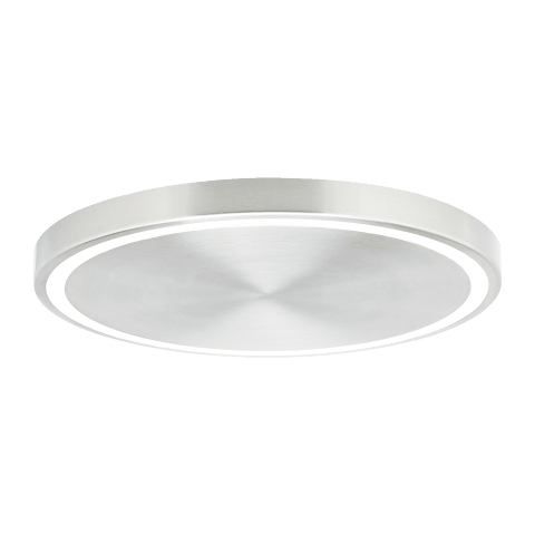 Crest 17 Flush Mount satin nickel 3000K 90 CRI led module 35w 90 cri 3000k 120v
