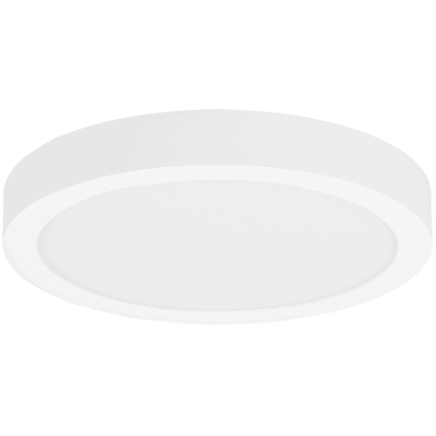 Tenur Round 12 Flush Mount Opal Acrylic white 3000K 90 CRI  led module xxw 90 cri 3000k 120v
