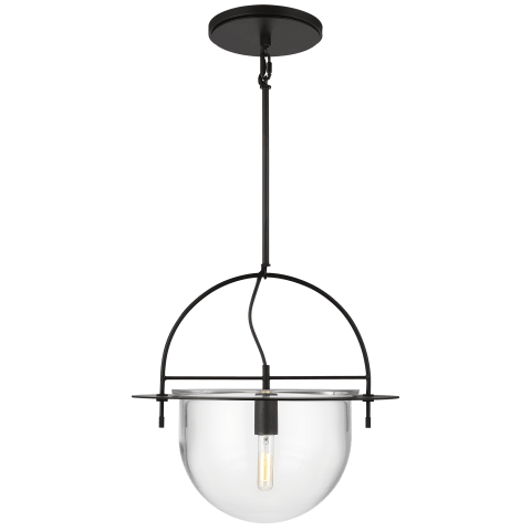 Nuance 1 - Light Large Pendant Aged Iron