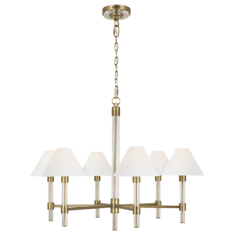Robert Medium Chandelier Time Worn Brass