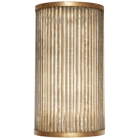 "Sophie 12"" Sconce in Gilded Iron"