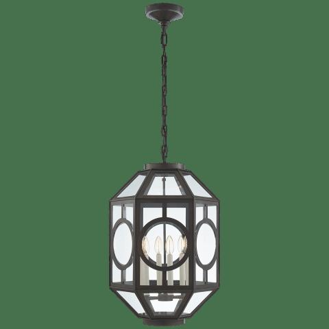 Chatsworth Lantern in Aged Iron