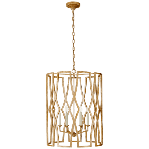 Brittany Large Lantern in Venetian Gold