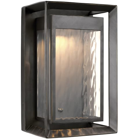 Urbandale 1 - Light Outdoor LED Wall Lantern Antique Bronze