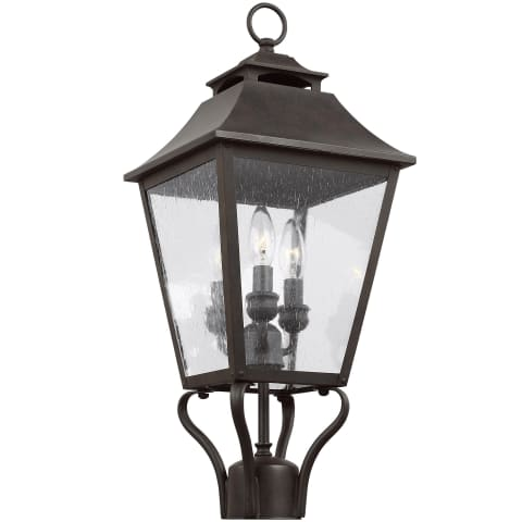 Galena 3 - Light Post/Pier Lantern Sable
