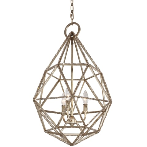 Marquise 3 - Light Pendant Burnished Silver