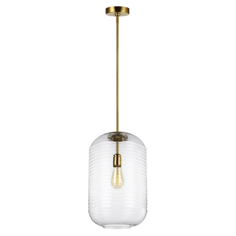 Arlon 1 - Light Pendant Burnished Brass