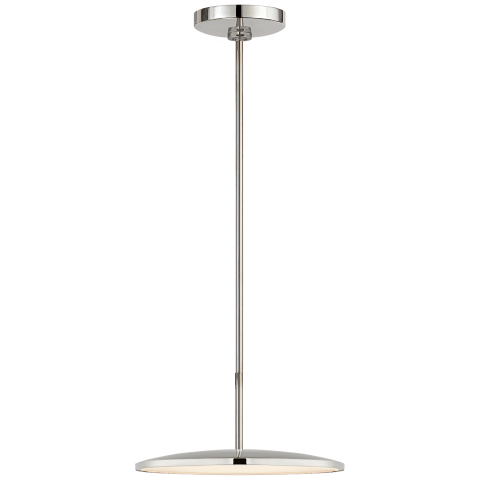 "Dot 13"" Pendant in Polished Nickel"
