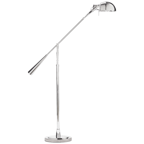 Equilibrium Floor Lamp in Polished Nickel