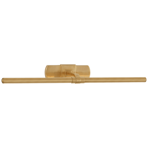 """Langley 24"""" Picture Light in Natural Brass"""