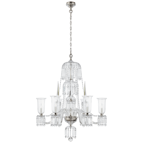 Crowley Grande Chandelier in Crystal