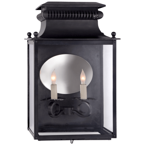 Honore Medium 3/4 Sconce in Blackened Copper