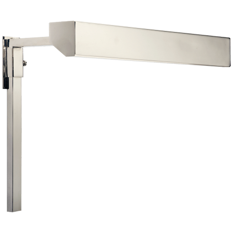 "McClain 12"" Picture Light in Polished Nickel"