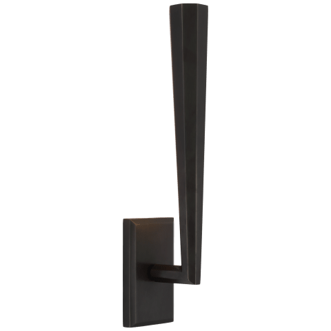 Galahad Single Sconce in Bronze