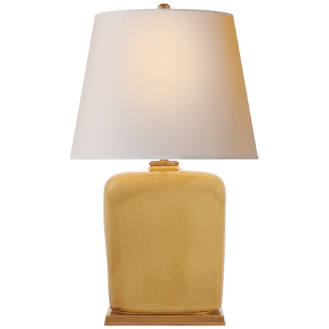 Mimi Table Lamp in Light Honey with Natural Paper Shade