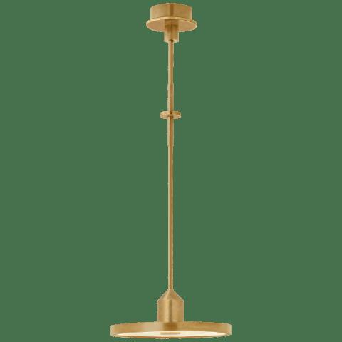 Valen Medium Pendant in Hand-Rubbed Antique Brass