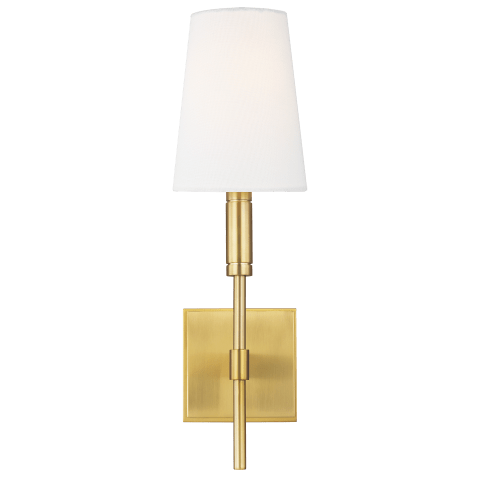 Beckham Classic Sconce Burnished Brass