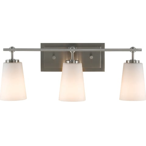 Sunset Drive 3 - Light Vanity Fixture Brushed Steel