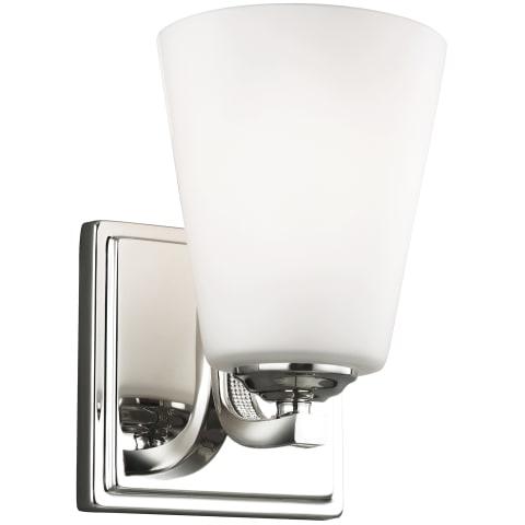 Pave 1 - Light Sconce Polished Nickel