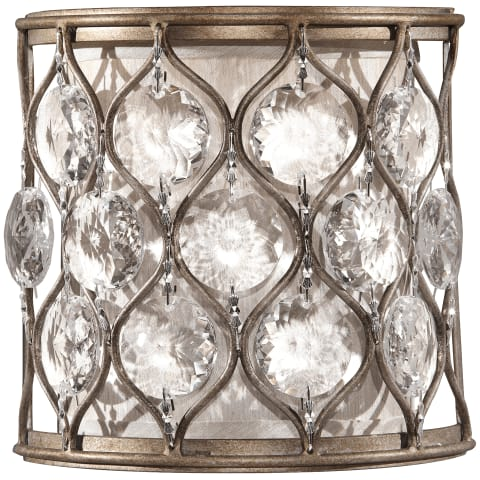 Lucia Sconce Burnished Silver