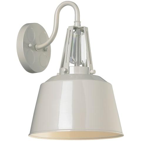 Freemont 1 - Light Wall Bracket Hi Gloss Grey