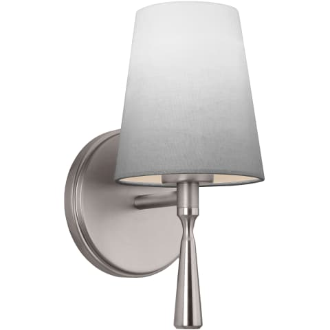 Tori 1 - Light Sconce Satin Nickel