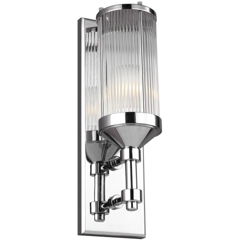 Paulson 1 - Light Wall Sconce Chrome