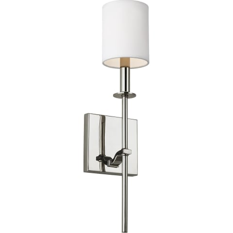 Hewitt 1 - Light Wall Sconce Polished Nickel