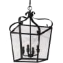 Lockheart Four Light Hall / Foyer Blacksmith Bulbs Inc