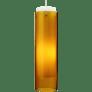 Echo Grande Pendant Amber satin nickel 2700K 90 CRI a19 led 90 cri 2700k 120v (t20/t24)