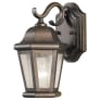 Martinsville 1 - Light Wall Lantern Corinthian Bronze