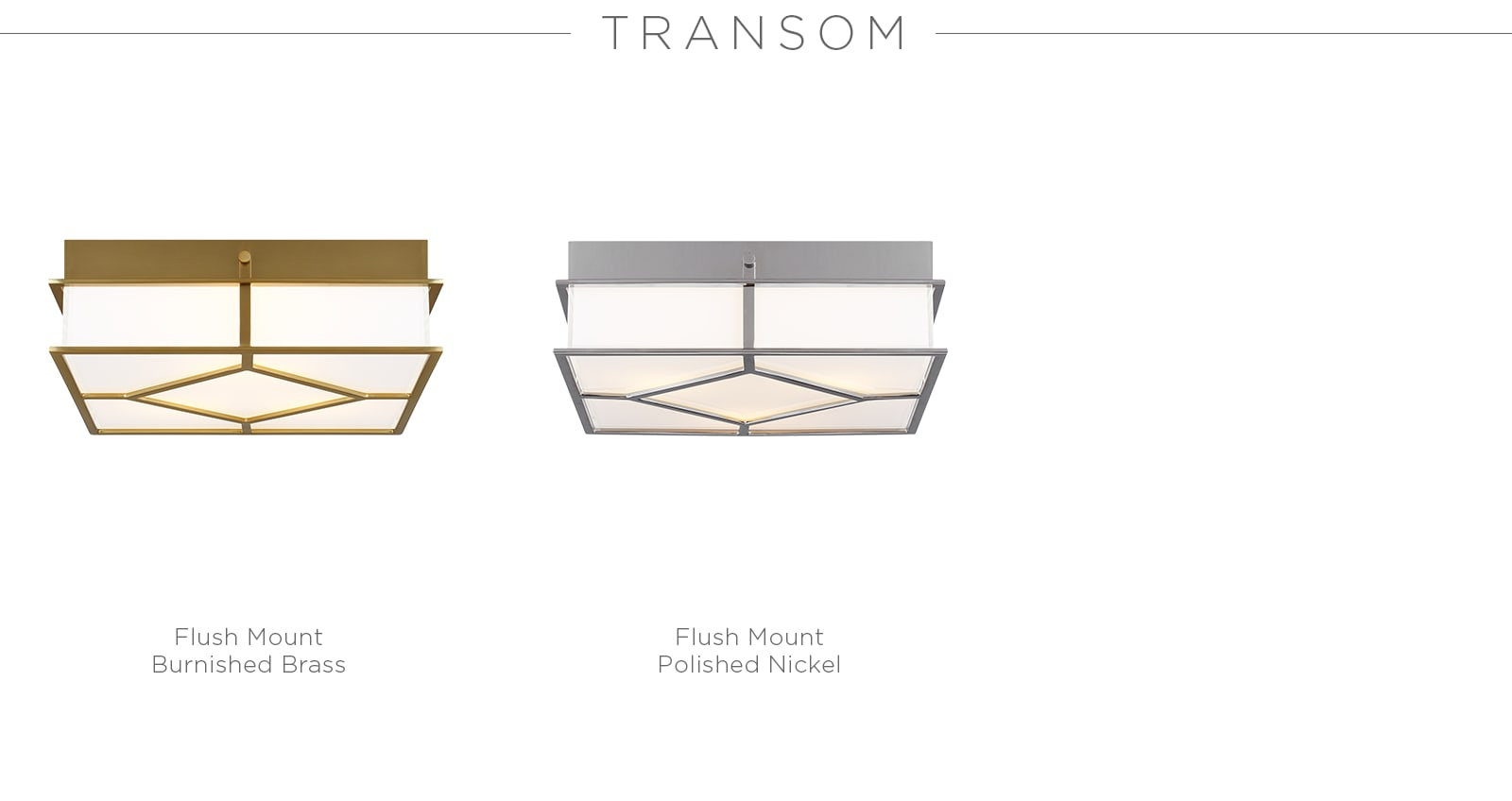 Transom Series