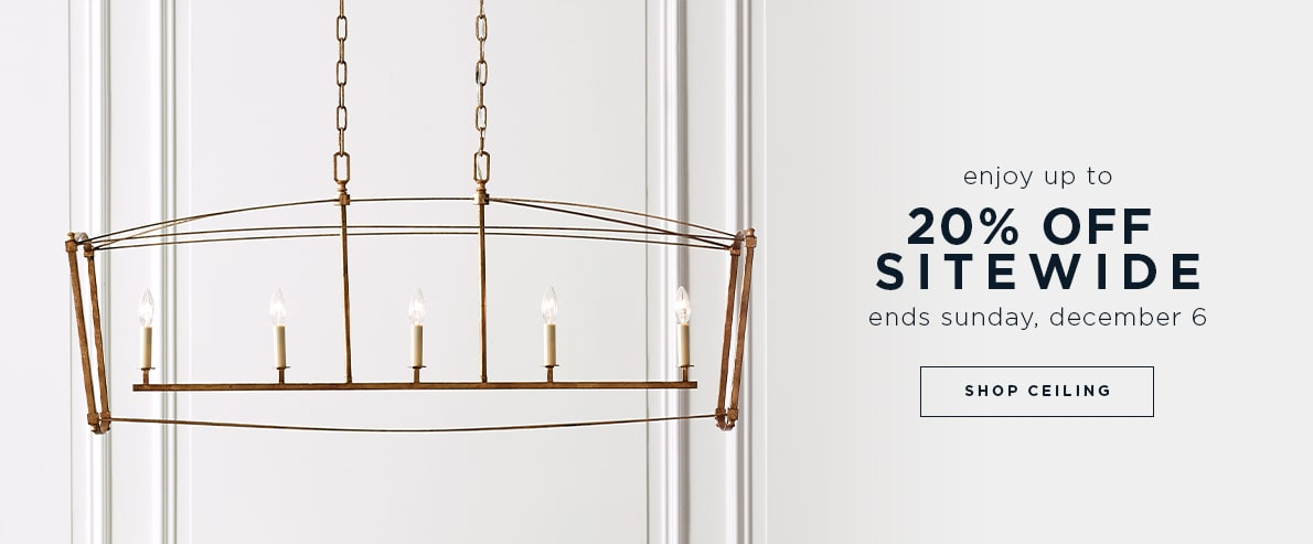 cyber event: up to 20% off sitewide