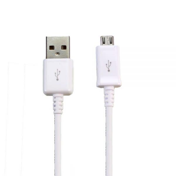 Cable Micro Usb V8 - Blanco