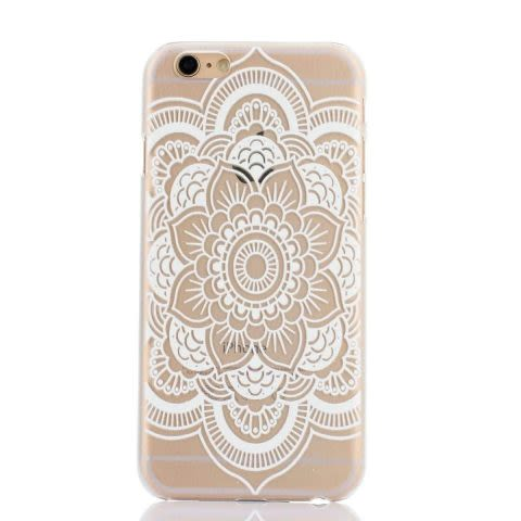 Mandala Case E iPhone 6 / 6S - Transparente