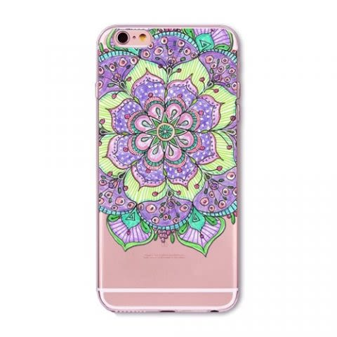 Funda Mandala Color Case D - Transparente