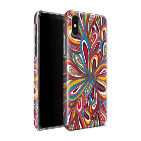 Funda Case Trendy Abstract Flower 561 - Multicolor