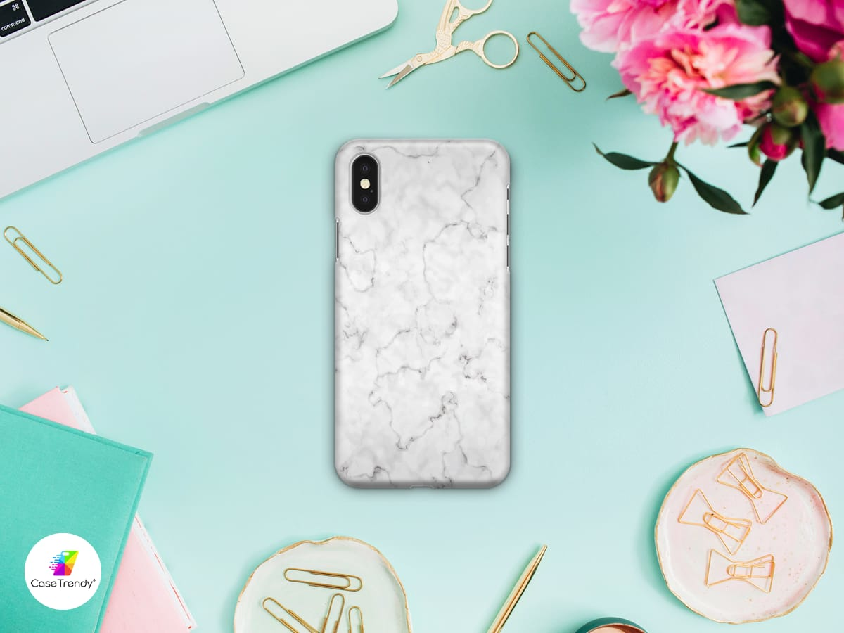 Funda Case Trendy White Marble 962